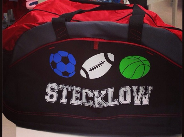 Design your own custom t-shirts. Design your own duffel bags